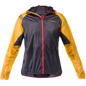 La Sportiva Blizzard Windbreaker Kurtka do biegania Mężczyźni żółty/czarny